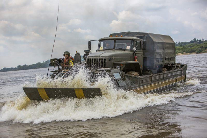 Плавающие транспортеры ПТС