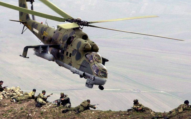 Советские вертолеты в Афганистане