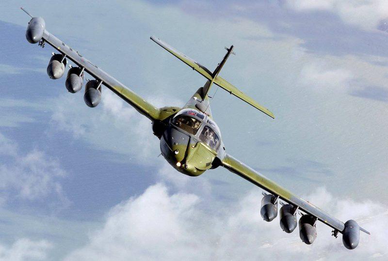 """Самолет А-37B """"Дрэгонфлай"""""""