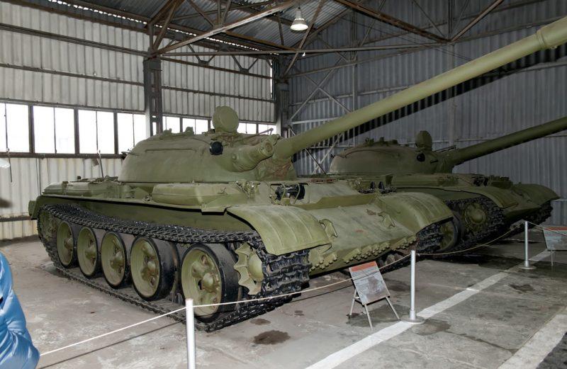 ТО-54 и ТО-55: последние огнеметные танки СССР