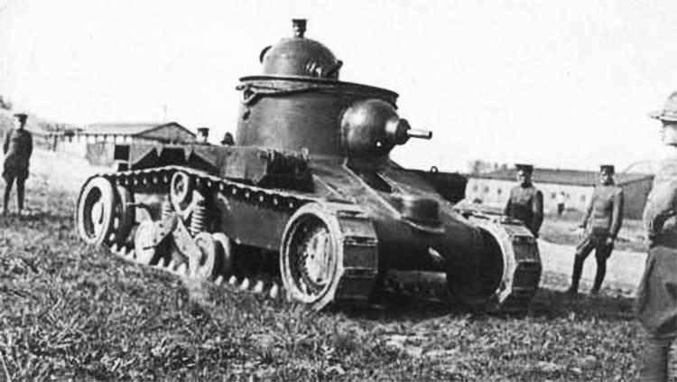 Средний танк M1919