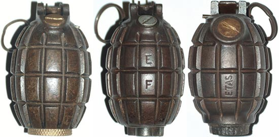 Ручные гранаты Миллса