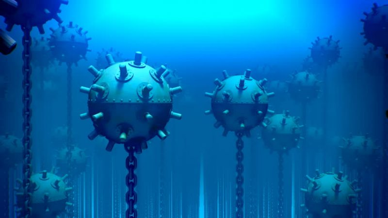 Морские мины в стратегических операциях