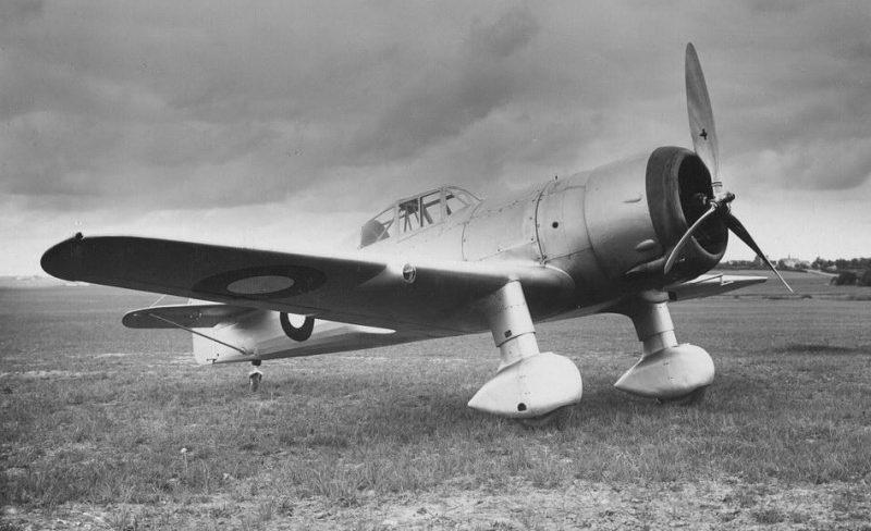 Самолет Фоккер D.XXI
