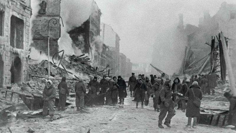 Блокада Ленинграда и бои за её снятие