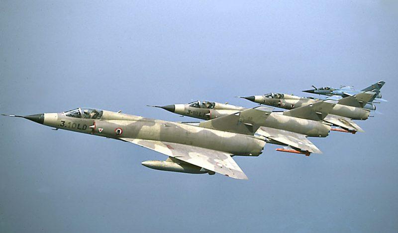 Самолет «Мираж» IIIE