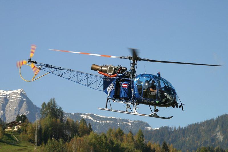 """Вертолет SA315B """"Лама"""""""
