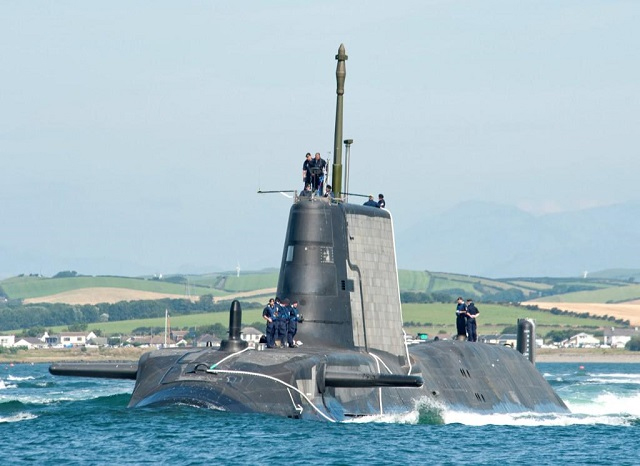 Атомные подводные лодки типа «Эстьют»