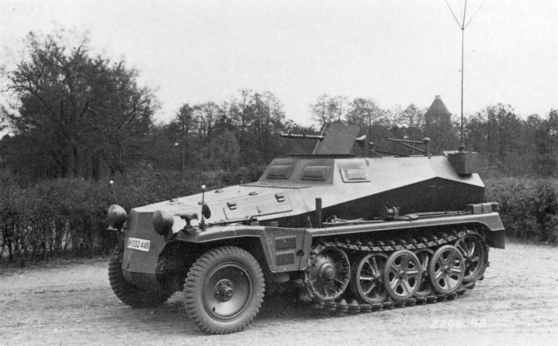 Бронетранспортер Sd.Kfz.250: характеристики и конструкция