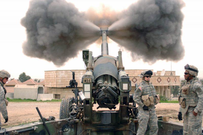Буксируемая 155-мм гаубица M198