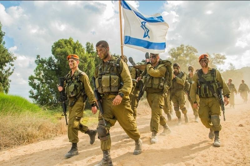 «Цанханим» - парашютная бригада Армии обороны Израиля