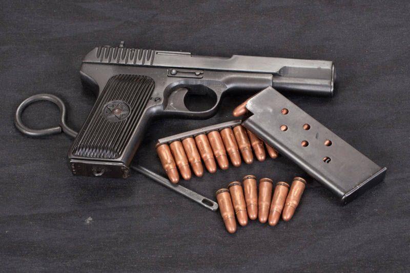 """Пистолет """"Тип 68"""" - северокорейская версия ТТ"""