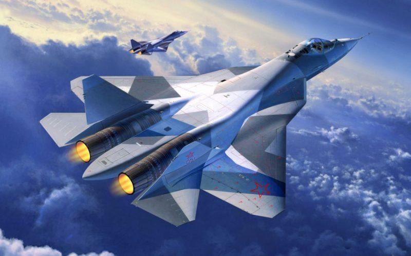 Перспективный российский истребитель Т-50 (ПАК ФА)
