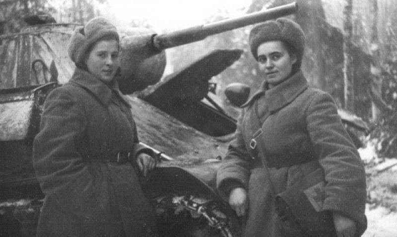 Советские женщины-танкисты