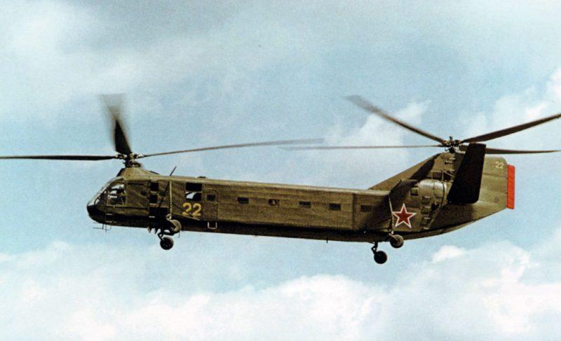 Вертолет Як-24 - «летающий вагон»