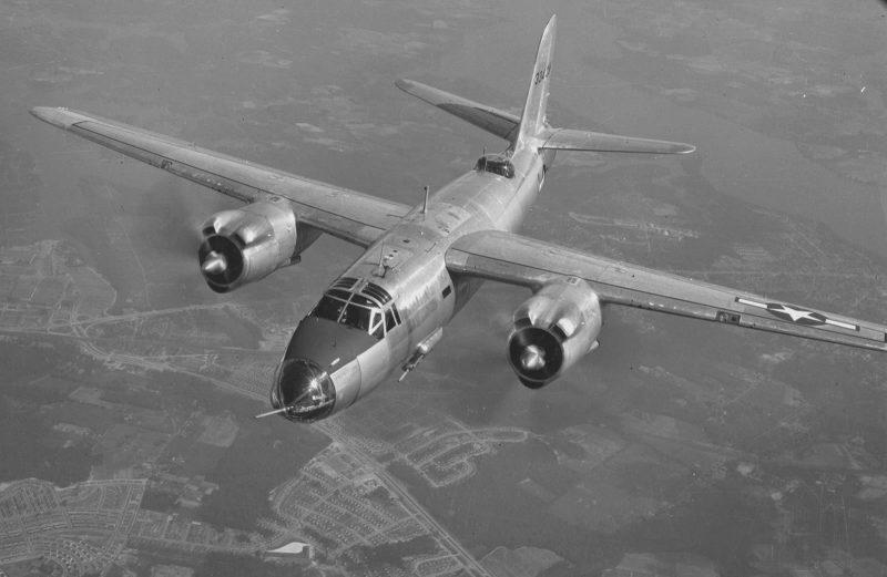 Бомбардировщик Мартин B-26 «Марудер»