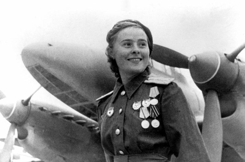 Летчицы-асы Великой Отечественной войны