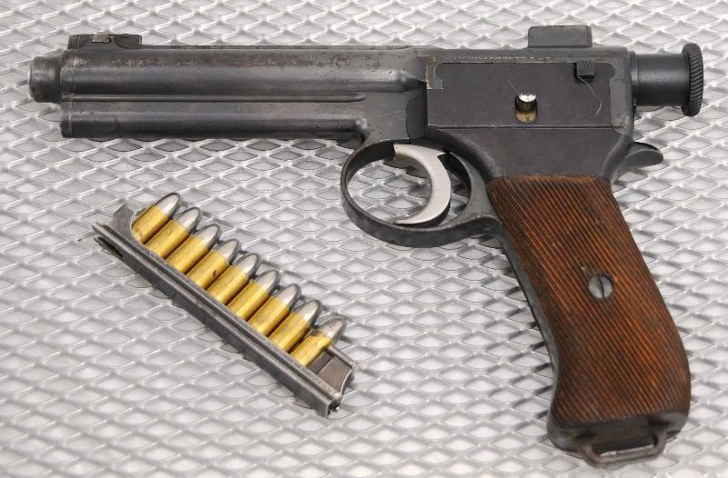 Пистолет «Рот-Штайр»