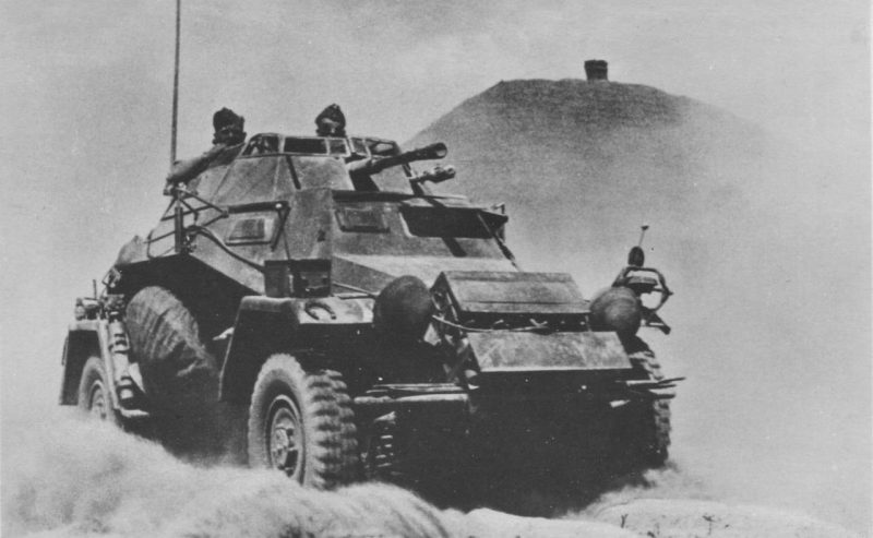 Бронеавтомобиль Sd.Kfz.222