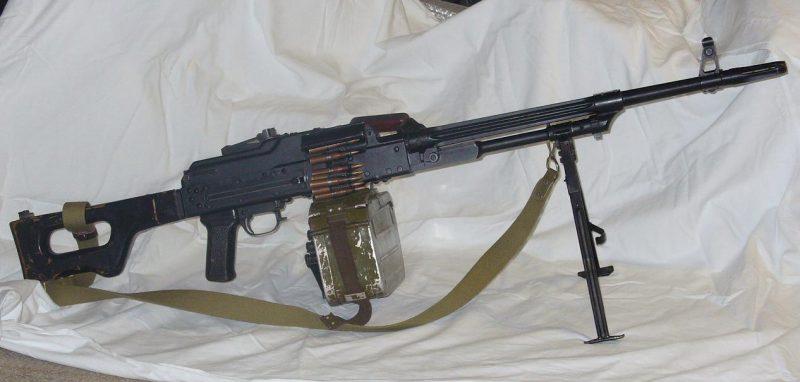 Пулеметы Калашникова и их модификации