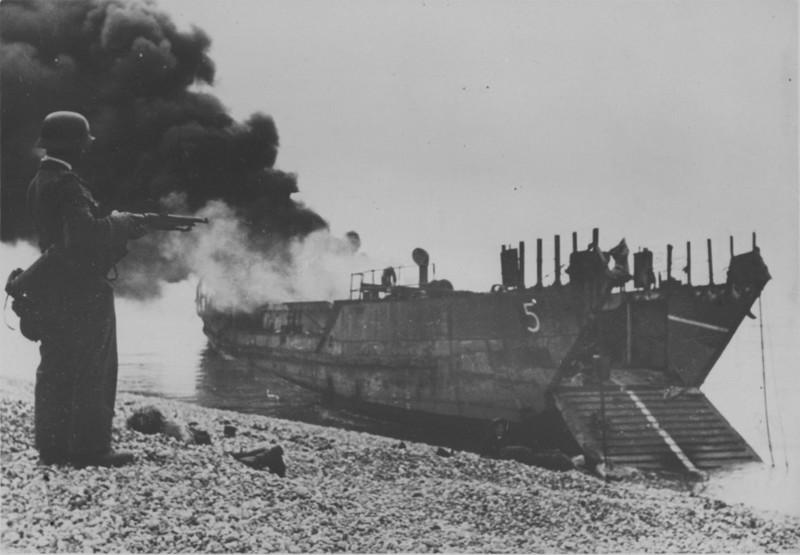 Высадка в Дьеппе, 1942 год