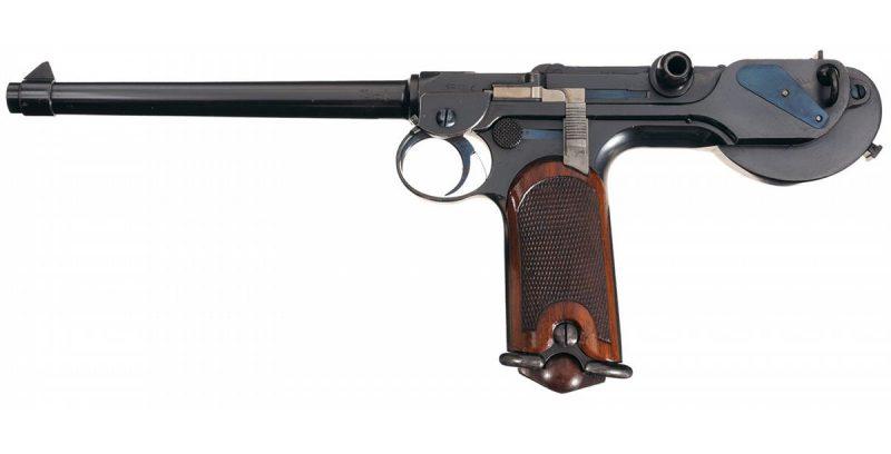 Пистолеты и револьверы до Второй мировой войны