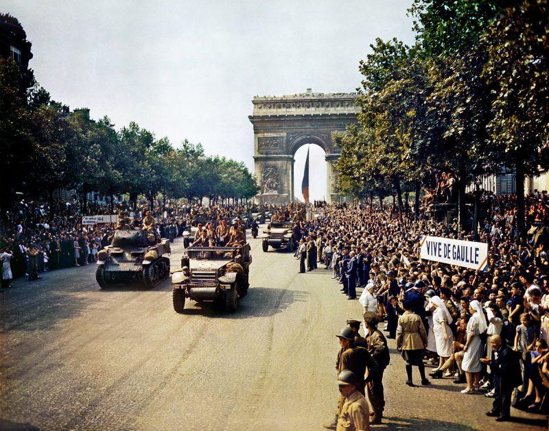 Освобождение Парижа