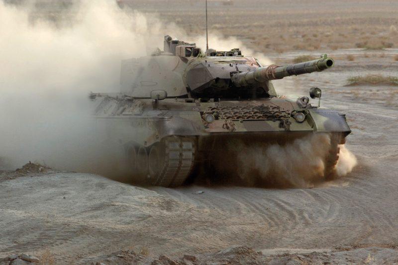 «Леопард 1» - основной боевой танк