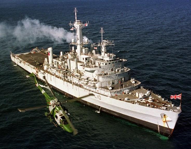 Десантные вертолетоносцы-корабли-доки (ДВКД) типа «Фиалесс»