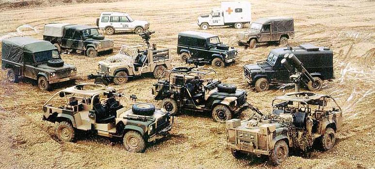 История создания военного автомобиля «Ленд Ровер»