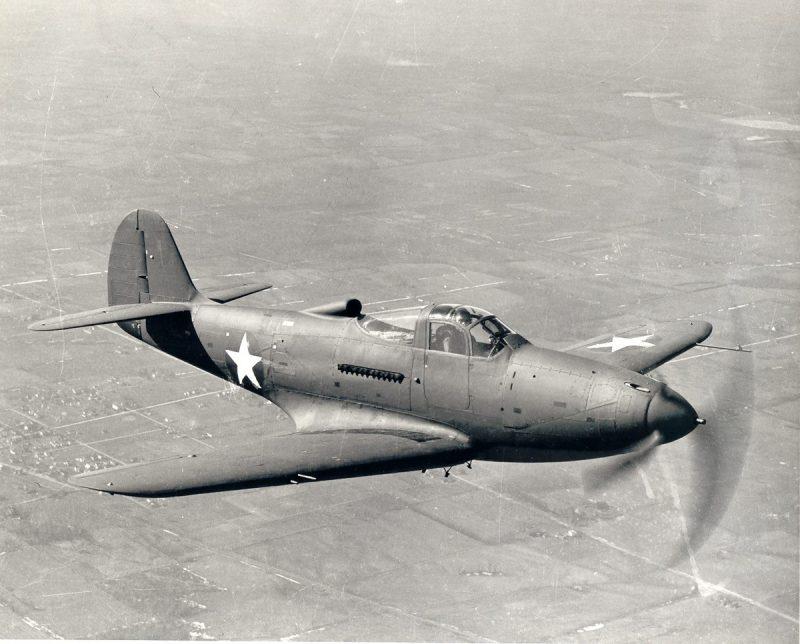 Истребитель Белл Р-39 «Аэрокобра»