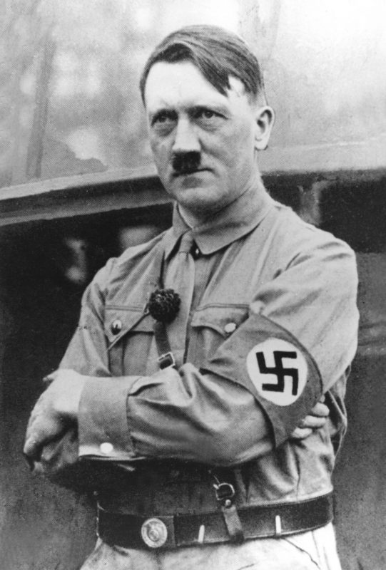Фюрер и рейхсканцлер Третьего рейха - Адольф Гитлер