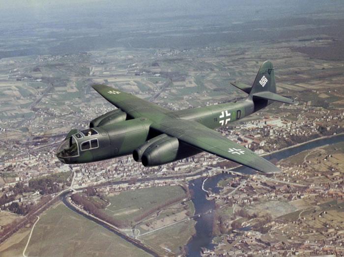 Арадо Ar 234 «Блитц» - первый в мире реактивный бомбардировщик