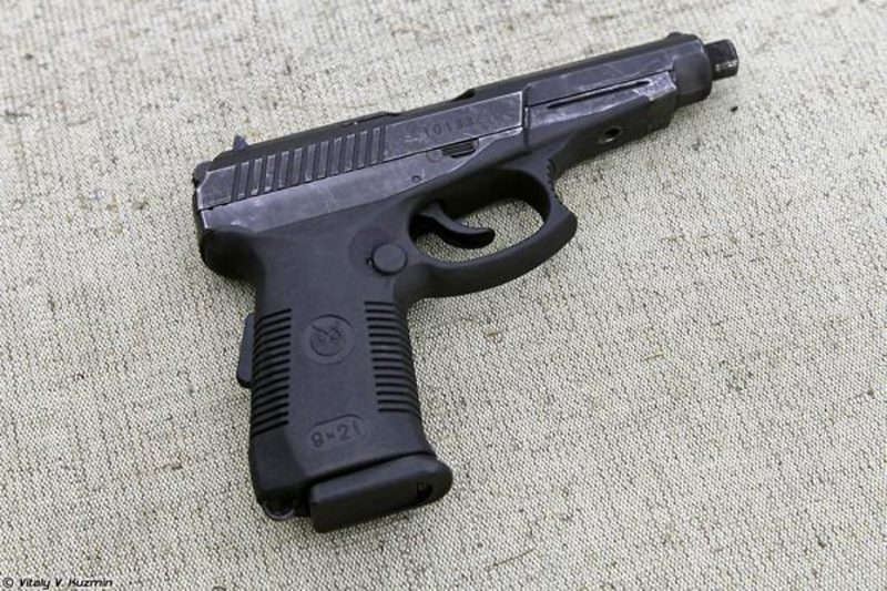 Пистолет Сердюкова - самый мощный среди боевых