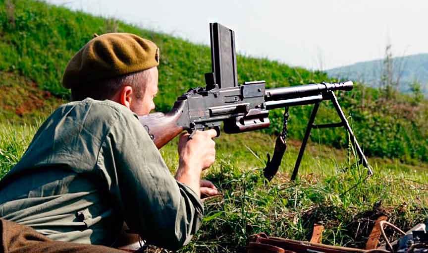 Пулеметы до Второй мировой войны
