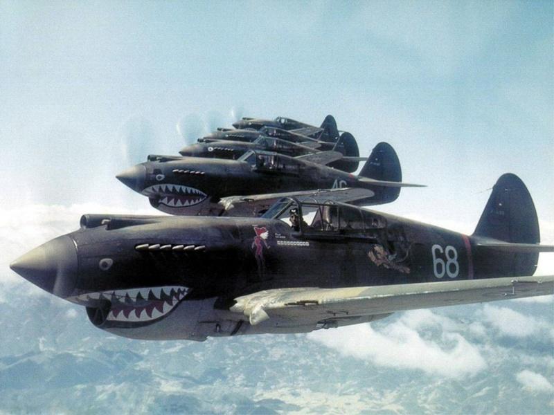«Летающие тигры» - американские асы на службе в Китае