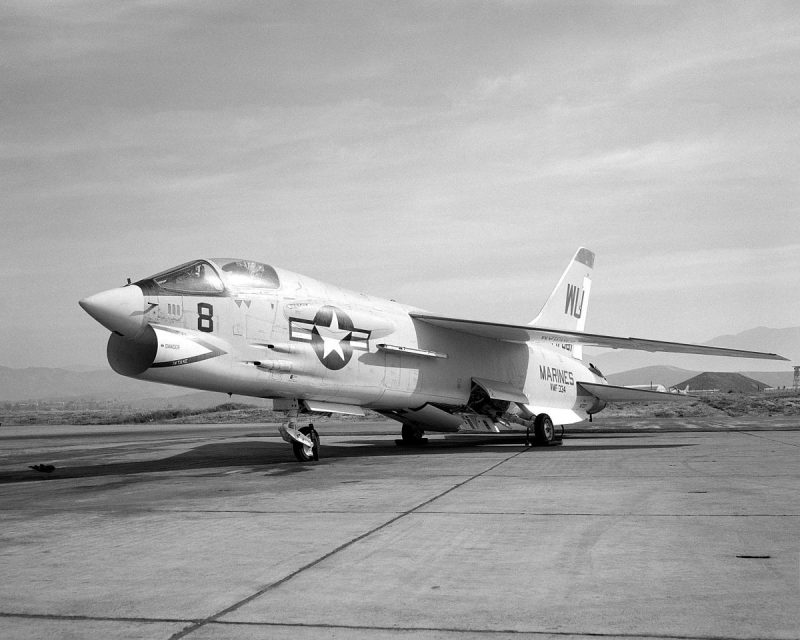Истребитель Воут F-8 «Крусейдер» - американские «крестоносцы»