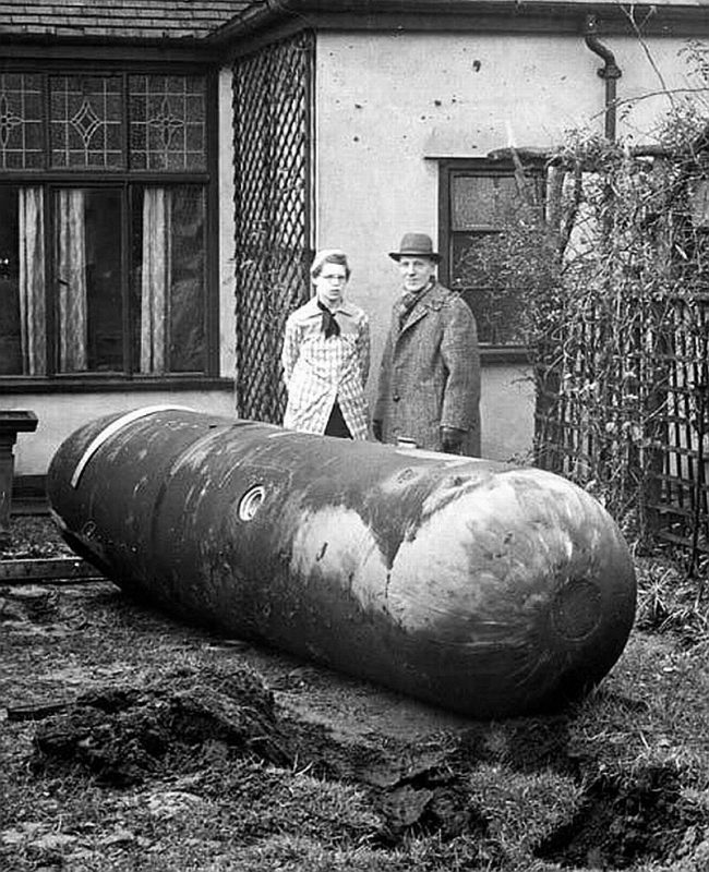 Luftmine - авиационные мины Германии