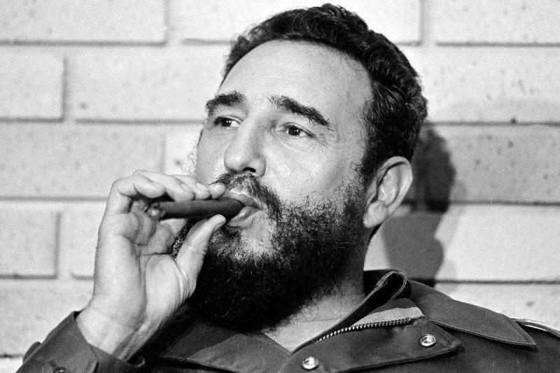 Фидель Кастро - лидер кубинской революции