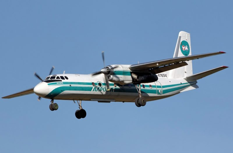 Турбовинтовой пассажирский самолет Ан-24