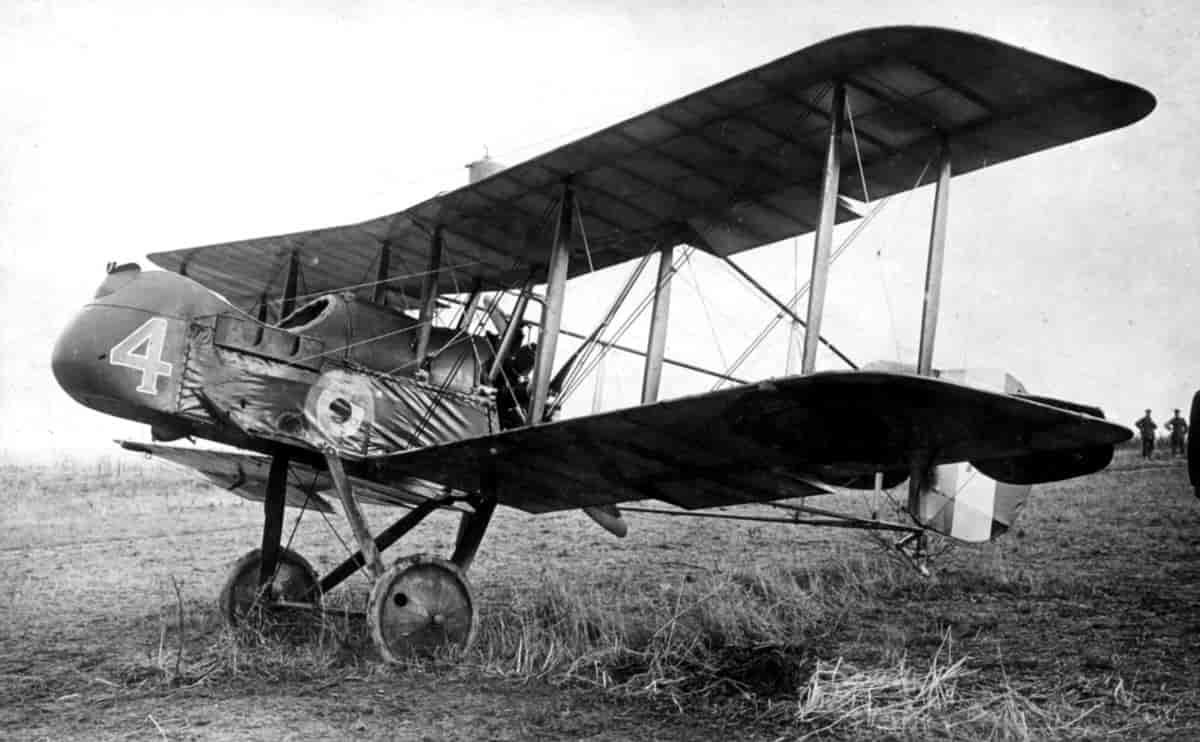 «Эйрко» DH-2 - первый британский специализированный истребитель