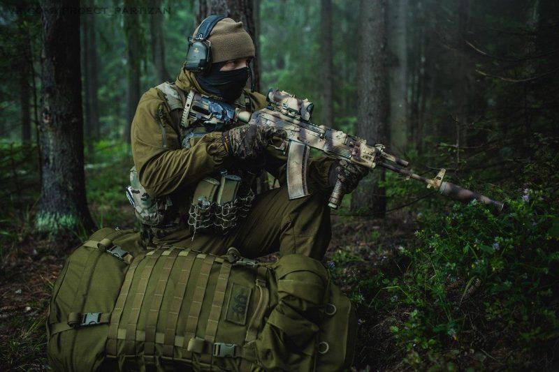 Тактика боя в лесу