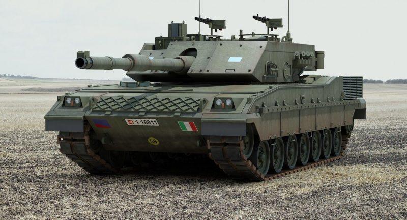Основной боевой танк Италии С1 «Ариете»