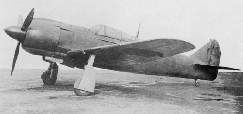 Истребитель «Кавасаки» Ки-100