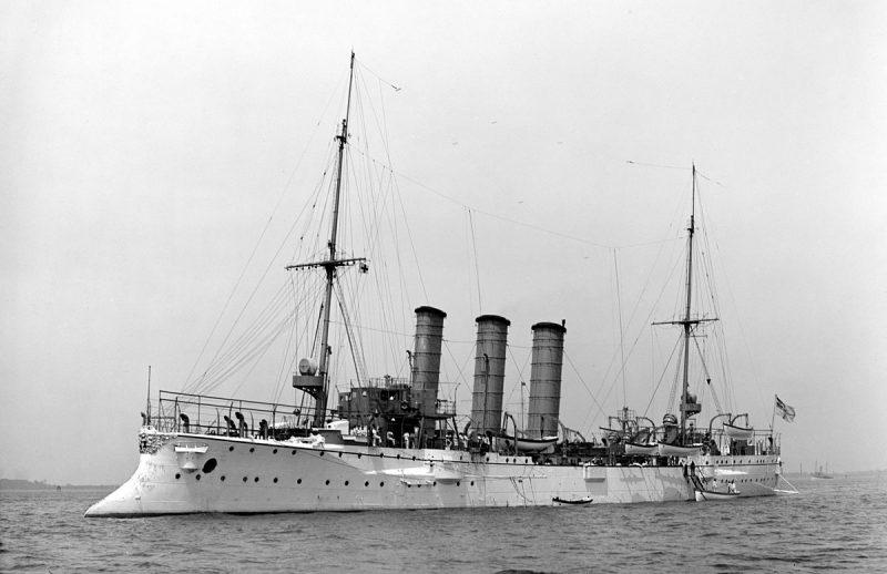 Крейсера типа «Газелле»