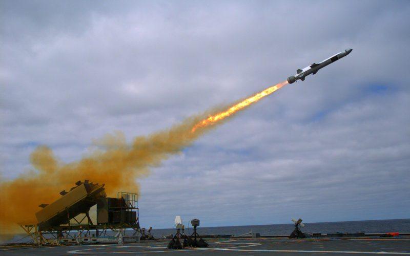 Береговой противокорабельный комплекс NSM (New Strike Missile)