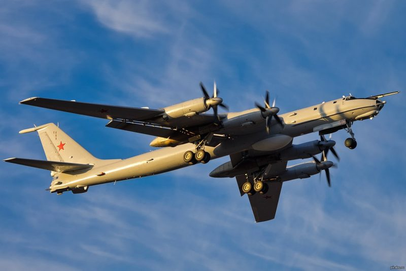 Дальний противолодочный самолет Ту-142