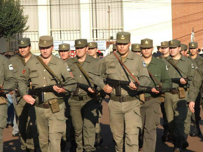 Сухопутные войска Аргентины