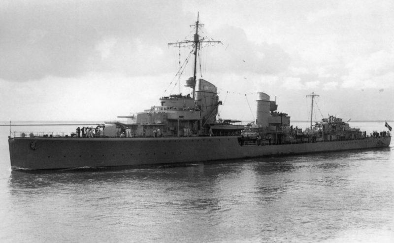 Эсминцы фашистской Германии типа «34/34А»