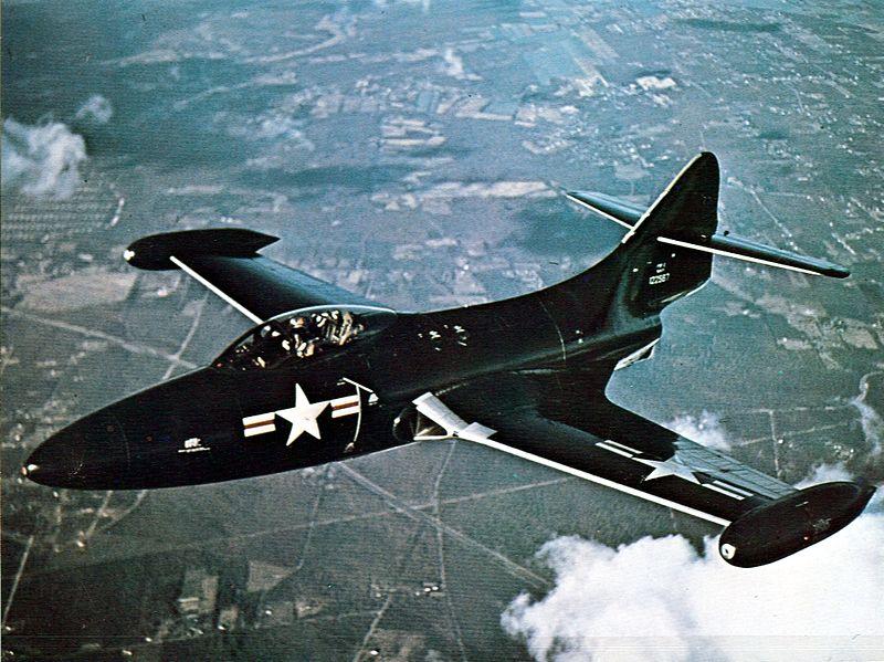 Палубный истребитель Грумман F-9F «Пэнтер»